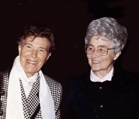 Ginetta Calliari e Chiara Lubich.