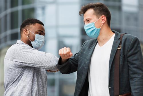 Cuidados com a pandemia